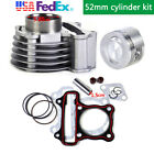 Cylinder Kit 52mm Big Bore Piston Set For GY6 125cc Stroke Scooter Moped ATV