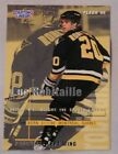1995 Starting Lineup Luc Robitaille Pittsburgh Penguins Hockey Card