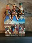 JIM SHORE 10 3 WISEMEN 3 KINGS GIFT OF LOVE HOPE CARING NATIVITY SET FIGURINES