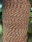Teflon Twisted Pair 26 Gauge RED WHITE twisted pair 100 Foot Roll soilid cond