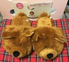 The Boyds Collection Critter Slippers Bear Slip On #61011 Adult Size 9-10 Large