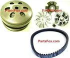 New GY6 125 150cc Clutch Assembly 19 Spline and Variator Scooter ATV Go Kart