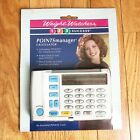 Vintage Weight Watchers Points Manager Calculator 123 success Factory Sealed