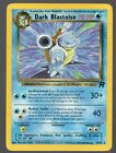 Dark Blastoise Team Rocket Set 20 82 Rare Pokemon Card MP