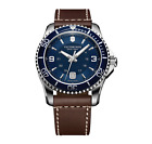 Swiss Army Victorinox 249106  New Men's Maverick Brown Leather Strap Watch