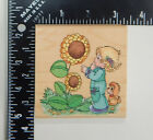 Stampendous Precious Moments The Skys The Limit Rubber Stamp UQ003