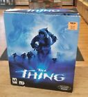 The Thing PC 2002 Video Game Rare Big Box CIB Complete Great Shape