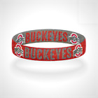 Reversible Ohio State Buckeyes Bracelet Wristband Made in USA