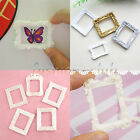 Vintage Embossment Resin Mini Picture Photo Frame Dollhouse Miniature Decoration