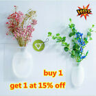 DIY Magic Rubber Silicone Sticky Flower Wall Hang Vase Container Floret Bottle N
