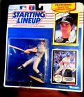 NY Yankees Don Mattingly 1990 EDITION Starting Lineup w Rookie Collectors Card