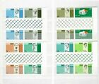 IRELAND - MINT NEVER HINGED - #206/213 - BLOCKS OF 4 ( GUTTER PAIRS) SEE SCAN