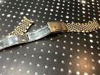 Vintage Omega Seamaster mens wristband watch 17mm beads of rise end pieces 570