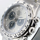 ROLEX DAYTONA 116509 COSMOGRAPH 18K WHITE GOLD 40 mm OYSTER STEEL AND BLACK DIAL