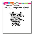 Stampendous Cling Rubber Stamp Set Marshmallow Friends