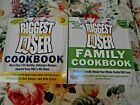 NBC The Biggest Loser Cookbook+BL Family Cookbook NEW Smoke free TWO BOOKS