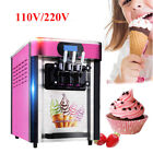 110V 20L H Soft Ice Cream Cones Making Machine Commercial Maker With 3 Flavors