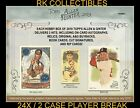THOMAS FISH 2019 ALLEN  GINTER 2 CASES 24 BOX PLAYER BREAK LOT BLOWOUT CARDS