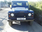 Land Rover Defender 90 Hard Top 2009 Damaged Repairable Salvage Only 53000 K