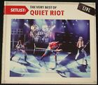 Quiet Riot - Setlist: The Very Best of Quiet Riot Live CD (2010, Legacy) Promo