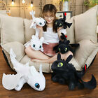 How to Train Your Dragon Toothless Night Fury Stuffed Animal Plush Toy Doll Gift