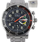 1999 Zenith Rainbow Flyback Stainless Steel Chronograph Automatic 02.0480.405