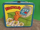 Vintage 1982 Metal Heathcliff Collectible Lunch Box From Aladdin Ind