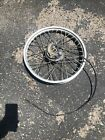 Honda Xl100 Front Wheel And Brake Hub