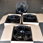 Fits Porsche 911 Carrera Boxster GT 20 Split 5 Spoke Style Wheels Satin Black