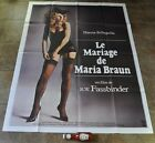 THE MARRIAGE OF MARIA BRAUN Movie Poster MASSIVE Fassbinder BRD TRILOGY New
