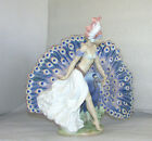 LLADRO FEATHERED FANTASY FIGURINE 5851 LADY DANCER WITH PEACOCK MINT WITH BOX