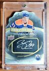 2015-16 CONNOR MCDAVID UD TRYPTICHS TRIL DIE-CUT AUTOGRAPH ROOKIE #27 60 T-STAR3
