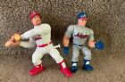 Lot Of Chipper Jones And Mark McGwire 1998 Starting Lineup Pro Action Figures
