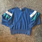 Vintage Champion Sweatshirt Size Small Made In USA Blue Tag