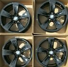 18 BMW FACTORY ORIGINAL WHEELS RIMS GLOSS BLACK SET 4 525 535 5 SERIES set 4