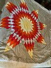 Native American Star Quilt comforter Hand made