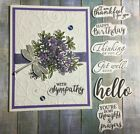 Awesomely Artistic Card Kit Of 4 w Multiple Sentiments As Shown Stampin Up
