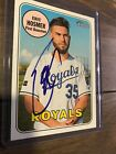 2018 Topps Heritage Eric Hosmer #71 Auto Signed Autograph KC Royals Padres