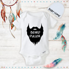 Beard Funny Onesies Beanie Boy Shoes Baby Shower Gift Set Newborn New Dad Gifts