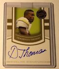 2010 Press Pass SE Gold Sideline Signatures Gold Autograph Demaryius Thomas