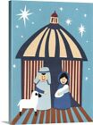 Nativity 2014 Canvas Wall Art Print Christmas Home Decor
