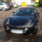 Smart Roadster Coupe Convertible Black Hard Top Roof Fun Car