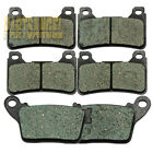 F+R Brake Pads For Honda CBR 600 RR (2007-2017) CBR 1000 RR / RRA (2006-2016)