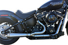 TRASK TM 5050 Assault 2 Into 1 Exhaust System 2018 19 Harley Softail Slim