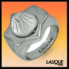 LALIQUE ASTRID 65 size T 54 jewelry lalique Star of David Sterling Ring 774600