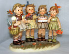Hummel #600 We Wish You The Best TMK 7 Century Collection 6th In Series MIB COA