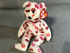 TY Beanie Baby Kissy the Bear 2003 CLEAN W/ TAGS