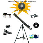 Galileo 700mm x 60mm SMART SCOPE Refractor Telescope with FREE Solar Filter