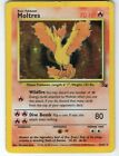 Moltres Fossil Set 12 62 Holo foil Rare Collectible Pokemon Card HP