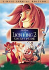 Lion King 2 Simbas Pride DVD 2004 Special Edition BRAND NEW Factory Sealed
